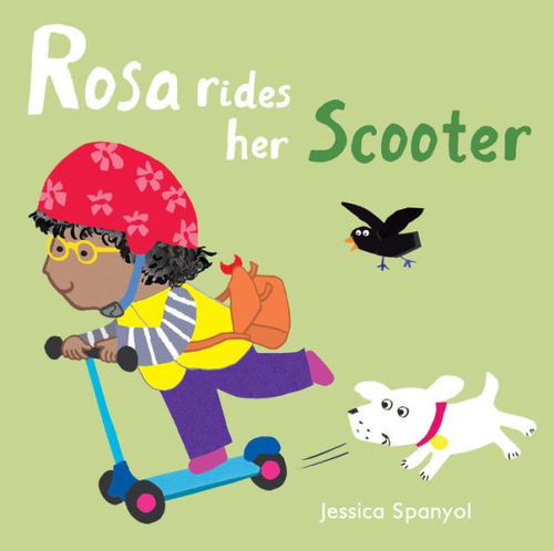 Rosa Rides Her Scooter book