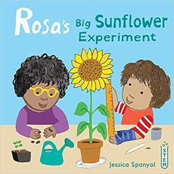 Rosa's Big Sunflower Experiement book