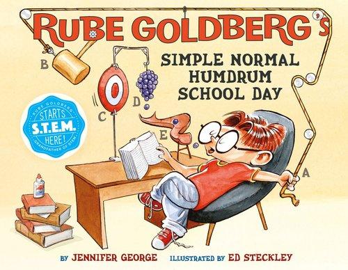 Rube Goldberg's Simple Normal Humdrum School Day book