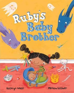 Ruby's Baby Brother book