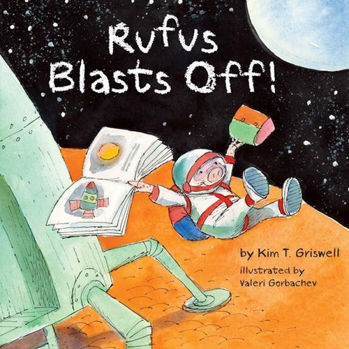 Rufus Blasts Off book