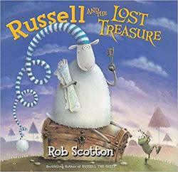 Russell and the Lost Treasure book