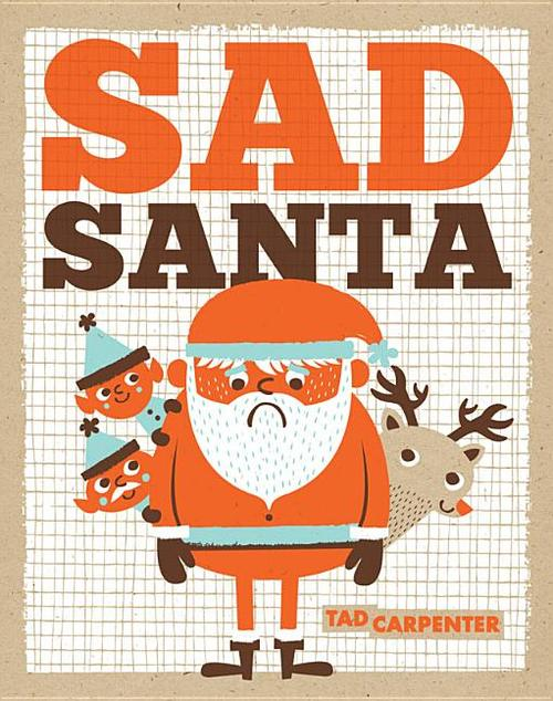 Sad Santa book