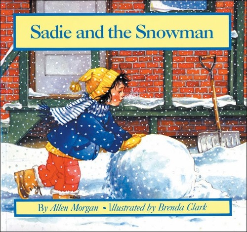 Sadie and the Snowman book