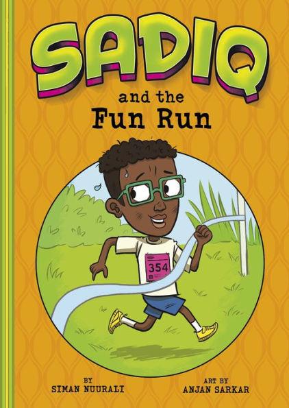 Sadiq and the Fun Run book