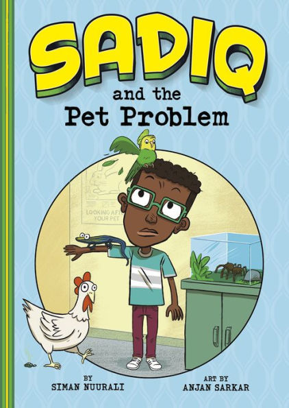 Sadiq and the Pet Problem Book