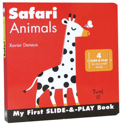 Safari Animals (My First Slide-&-Play) book
