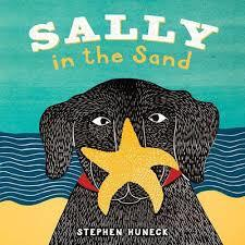 Sally in the Sand book