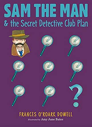 Sam the Man & the Secret Detective Club Plan book