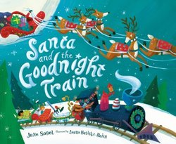 Santa and the Goodnight Train book