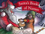 Santa's Book of Names book