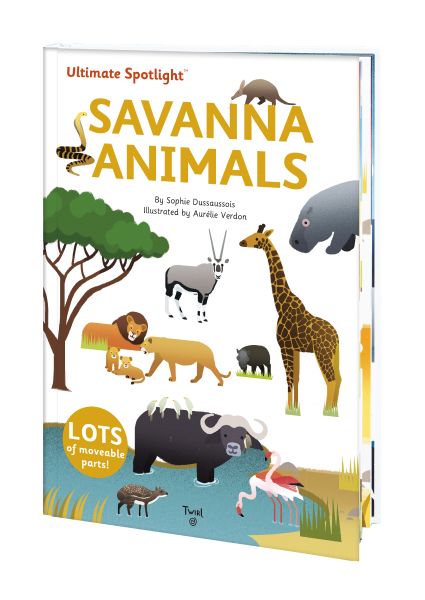 Savanna Animals book