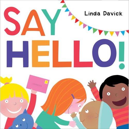 Say Hello! book