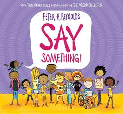 Say Something! book