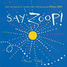 Say Zoop book