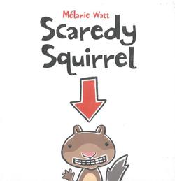 Scaredy Squirrel book
