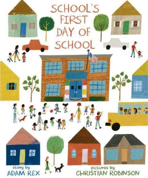 School's First Day of School book