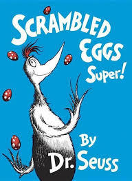 Scrambled Eggs Super! book