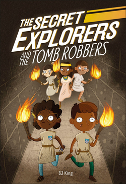 Secret Explorers and the Tomb Robbers book