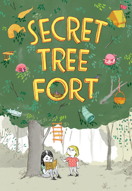 Secret Tree Fort book