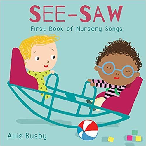 See Saw Nursery Songs book