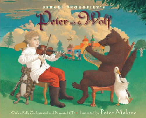 Sergei Prokofiev's Peter and the Wolf book