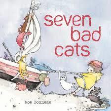 Seven Bad Cats book