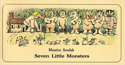 Seven Little Monsters book