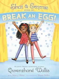 Shai & Emmie Star in Break an Egg! book