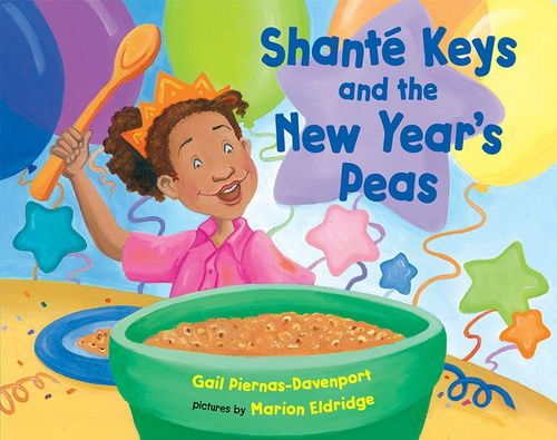 Shanté Keys and the New Year's Peas book