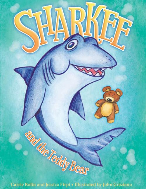 Sharkee & the Teddy Bear book
