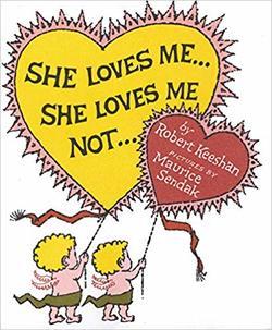 She Loves Me...She Loves Me Not... book