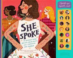 She Spoke book