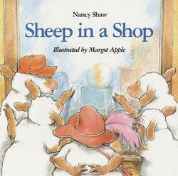 Sheep in a Shop book