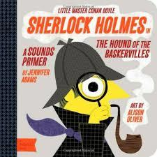 Sherlock Holmes in the Hound of the Baskervilles book