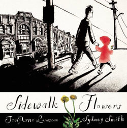 Sidewalk Flowers book