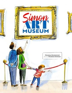 Simon at the Art Museum book