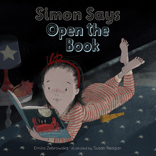 Simon Says Open the Book book