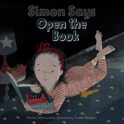 Simon Says Open the Book book