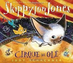 Skippyjon Jones Cirque de Ole book