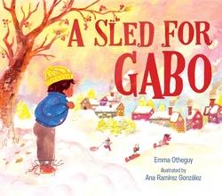 Sled for Gabo book