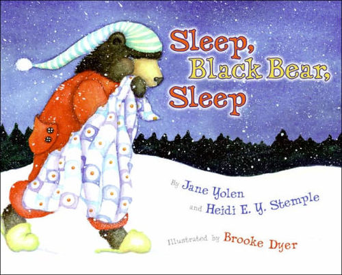 Sleep, Black Bear, Sleep book