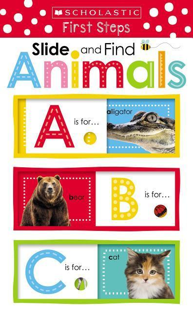 Slide and Find ABC Animals book