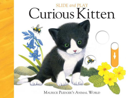 Slide and Play: Curious Kitten book