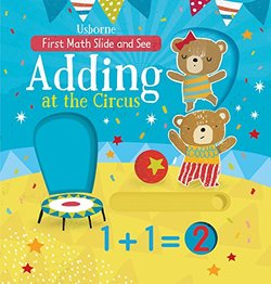 Slide and See Adding at the Circus book
