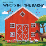 Slide-A-Story: Who's In the Barn? book
