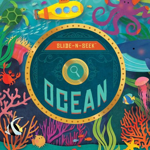 Slide-N-Seek Ocean book