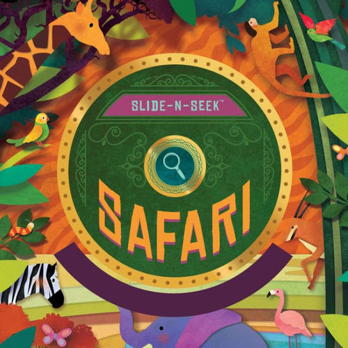 Slide-N-Seek Safari book