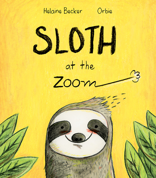 Sloth at the Zoom Book
