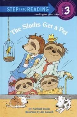 Sloths Get a Pet book